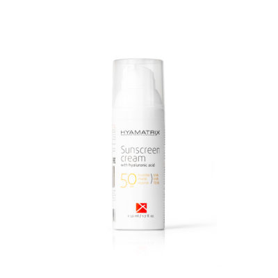 Sunscreen Cream with Hyaluronic Acid SPF 50